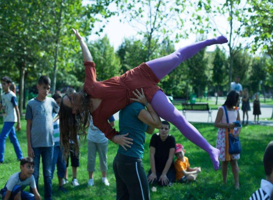Atelier de dans şi improvizaţie pentru copii