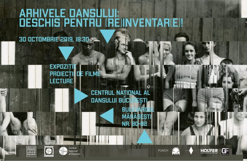 Arhivele Dansului: Deschis pentru (re)inventar(e)!