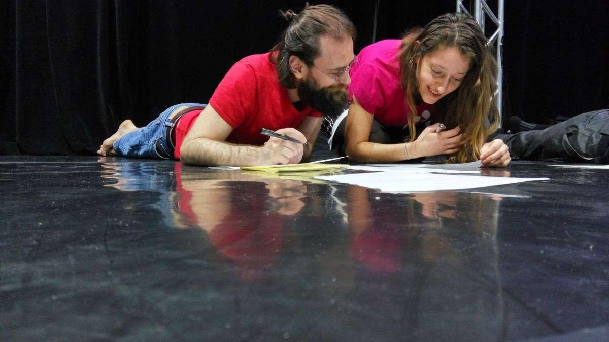 Dansliteratura 01: Cristina Lilienfeld și Răzvan Țupa