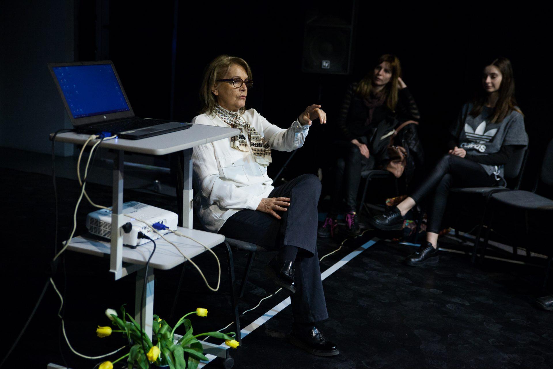 Discuție cu Silvia Ghiață