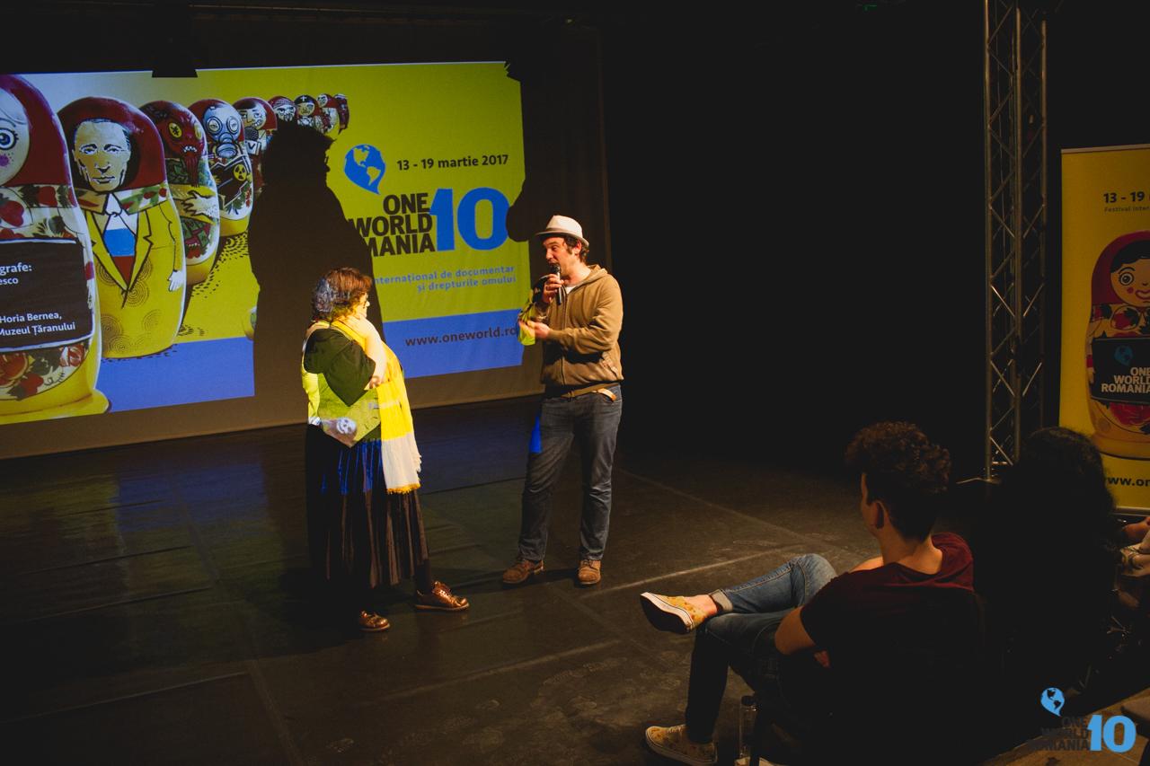 Proiecţie de film în cadrul Festivalului One World Romania