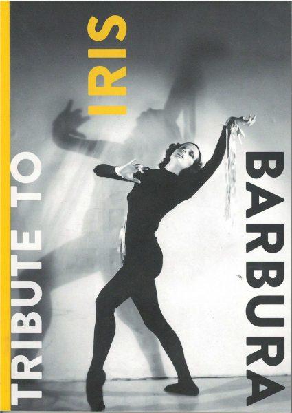 Titlu: Tribute to Iris Barbura<br /> <br /> Autori: Corina Cimpoieru; Isabel Fischer; Agnes Kern; Igor Mocanu; Beth Soll<br /> Ediție bilingvă publicată de CNDB și Deutsches Tanzarchiv Köln, cu spijinul ICR<br /> Anul apariției: 2017