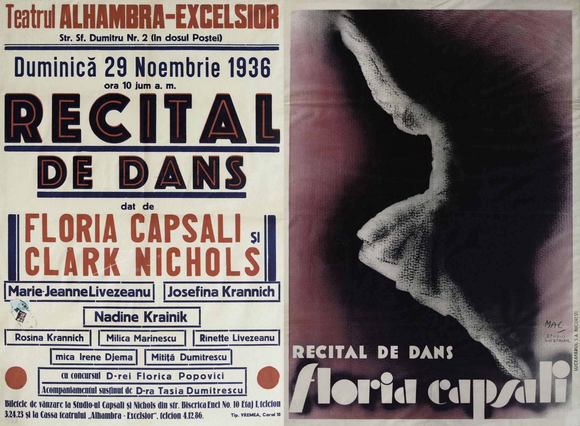 Arhiva Istorică_Fond Floria Capsali_Colecția de afișe