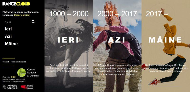 Dancecloud.ro Platfoma dansului contemporan românesc
