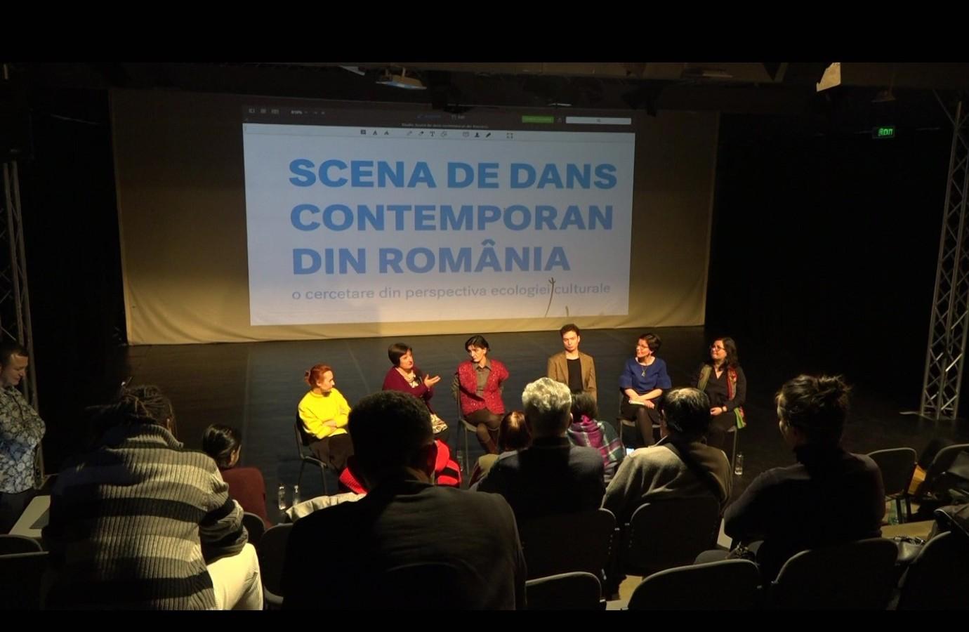 """Discuție pe marginea studiului  """"Scena de dans contemporan din România"""""""