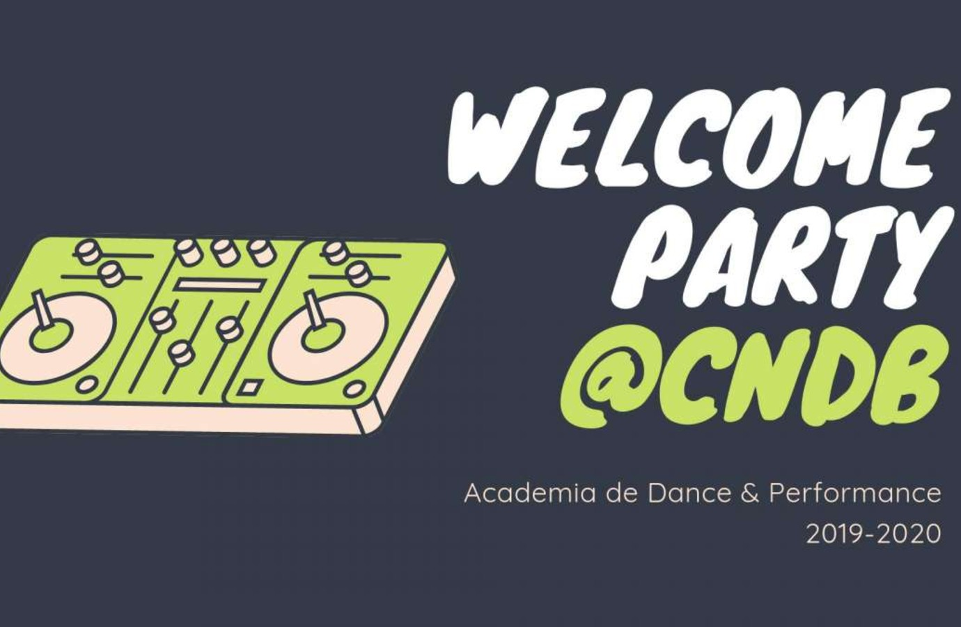Welcome party Academia de dans & performance