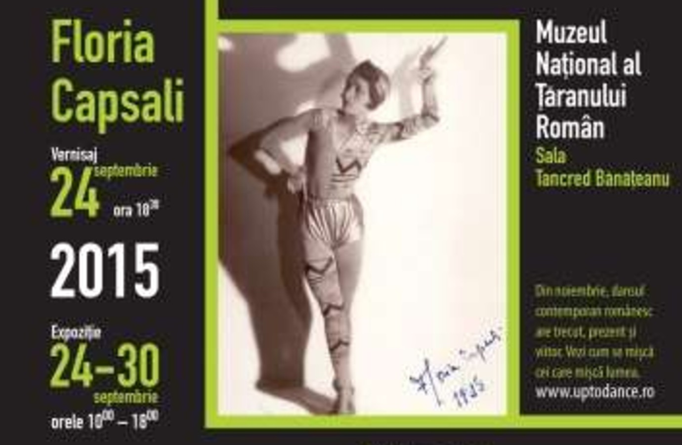 Time Dance Connection. Bucharest in Action (1925-2015) - Floria Capsali