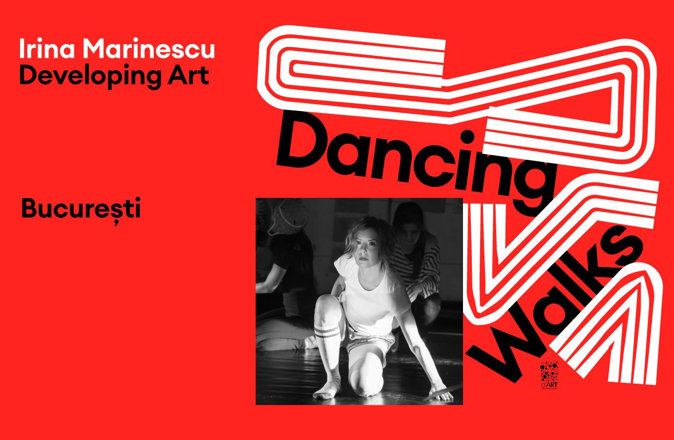 Dancing Walks - Developing Art