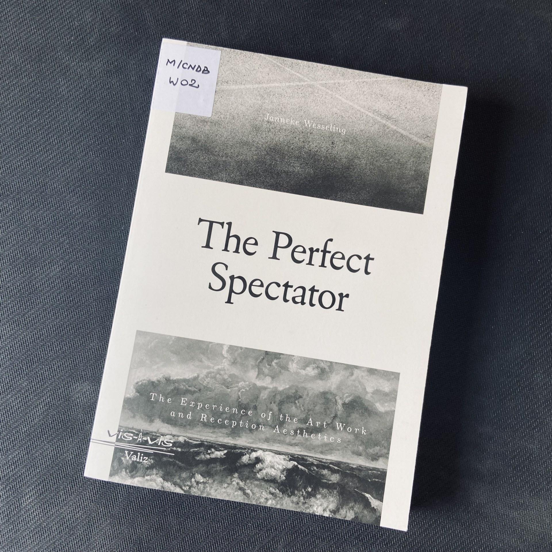 Coregrafa Andreea Novac recomandă din Mediateca CNDB: The Perfect Spectator