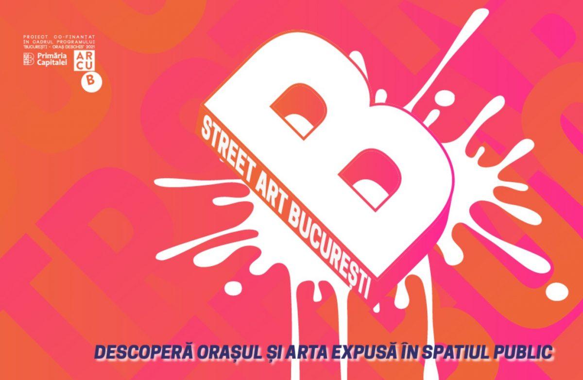 Începe Street Art București – un program de street art pentru locuitorii capitalei